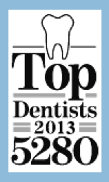 Top dentist 2013 in Denver by 5280, Dr. Greenhalgh