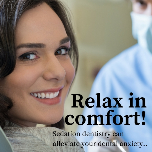 Denver dental patient enjoying benefits of sedation dentistry