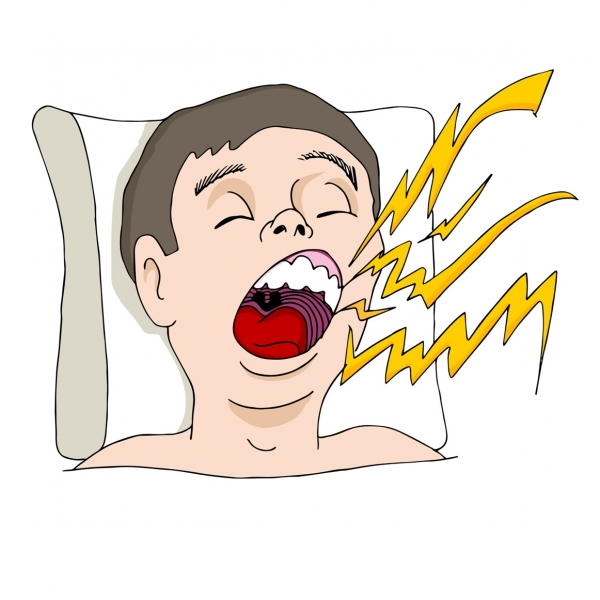snoring - sleep apnea symptoms - Denver dentist