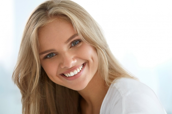 teeth whitening patient in Lakewood, CO